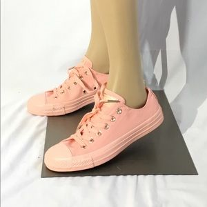 Converse All Star CTAS OX Pale Coral/Gold Sneakers